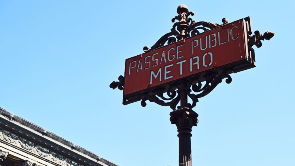Transport en commun Paris