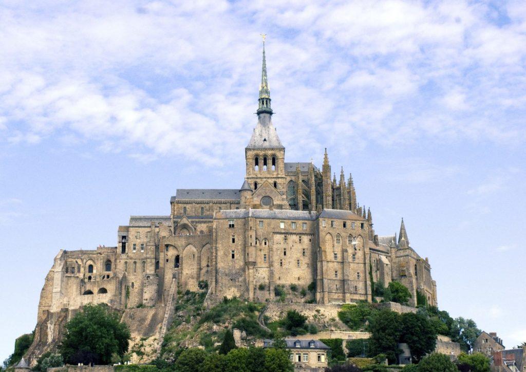 Mont Saint-Michel. Normandie