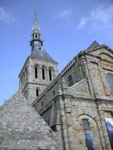 Abbaye du Mont Saint-Michel. Normandie.