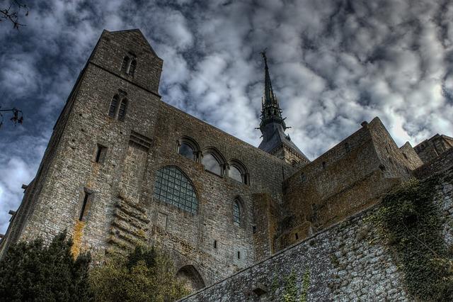 Abbaye du Mont Saint-Michel. Normandie